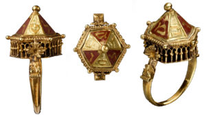 Anillo del tesoro de Colmar. Museo de la Edad Media Cluny