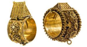 Anillos casa Judios en oro y filigrana
